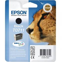 Epson Singlepack Black T0711 DURABrite Ultra Ink 7,4ml