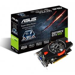 ASUS Placa video GTX650, 2048MB GDDR5, 128 bit GTX650-E-2GD5