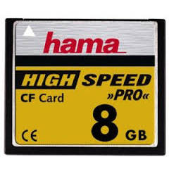 Hama CompactFlash 8GB 30 MB/s 90972