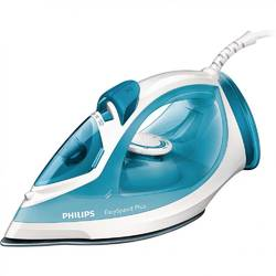 Philips Fier de calcat EasySpeed Plus GC2040/70, Talpa antiaderenta, 2100 W