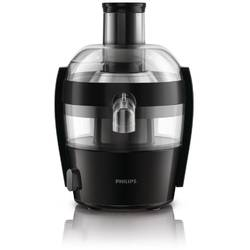 Philips Storcator de fructe si legume Viva Collection HR1832/02, 500 W, recipient suc 0.5 l, recipient pulpa 1 l, 1 viteza, tub de alimentare 55 mm, negru/argintiu