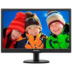 Monitor LED Philips 203V5LSB26/10 19.5 inch 5ms black