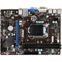 MSI Placa de baza H81, socket 1150