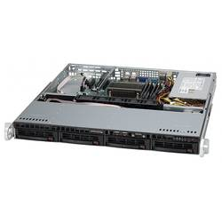 "SUPERMICRO Server Intel Xeon E3-1200 & v2 series, Up to 32GB DDR3 ECC 1333MHz, Intel C202 PCH Chipset, 4x 3.5"" Hot-swap SATA, Garantie 3 ani"