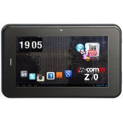 "Tableta E-BODA Izzycomm Z70 cu procesor Dual-Core Cortex A9 1.20GHz, 7"", 512MB DDR3, 4GB, 3G, Wi-Fi, GPS, Bluetooth, Android 4.1, Black"