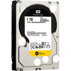 Western Digital HDD Server 1TB RE, SATA3, 7200rpm, 64MB, Enterprise