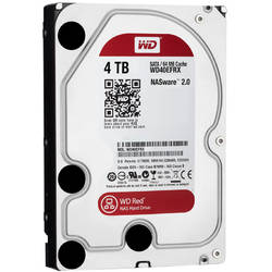 Western Digital HDD 4TB RED, Serial ATA3, IntelliPower, 64MB