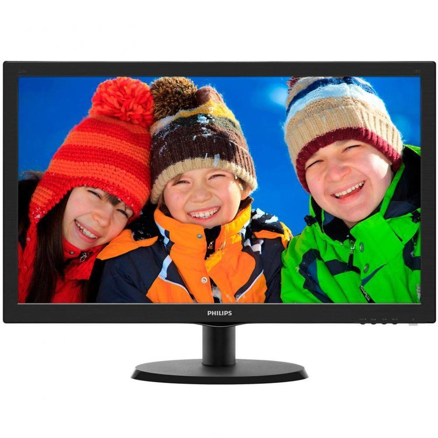 Monitor LED Philips 223V5LSB/00 21.5 inch 5ms black