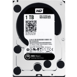 Western Digital HDD WD Black 1TB, 7200rpm, 64MB cache, SATA III