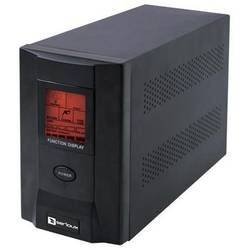 UPS Serioux ProtectIT 1200S, 1200VA, >8min back-up (half load), 2 baterii, LCD screen, black