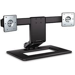 HP Adjustable Dual Monitor Stand AW664AA