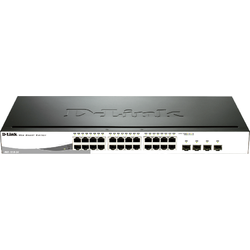 D-Link Switch DGS-1210-24P, 24-port
