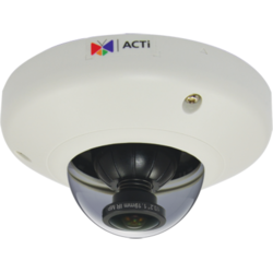 ACTI Camera IP 5MP Indoor Mini Fisheye Dome