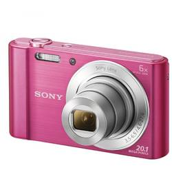 Aparat foto digital Sony DSCW810P, 20MP, Pink
