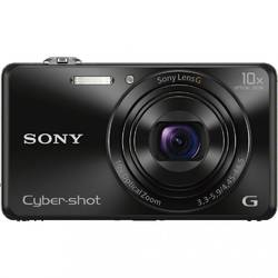 Aparat foto digital Sony DSCWX220B, 18 MP, Wi-Fi, Black