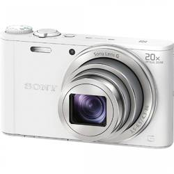 Aparat foto digital Sony DSCWX350W, 18 MP, Wi-Fi, White