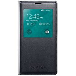 Samsung Husa Galaxy S5 G900 S-View Cover Black