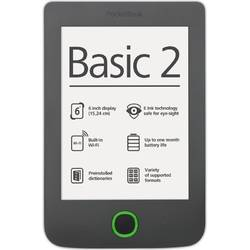 "PocketBook E-Book Reader Basic 2, Ecran 6"", 4GB, Gri"