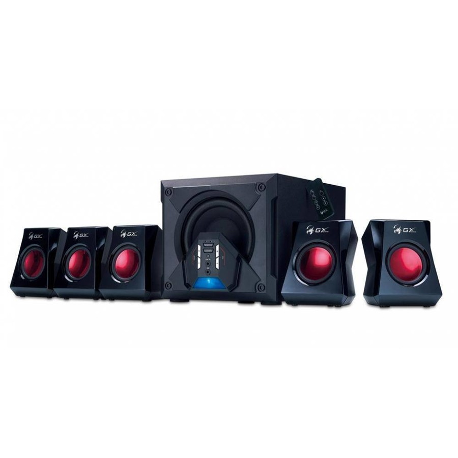 Boxe Pc 5.1 Genius Sw-g5.1 3500 Black, 80w