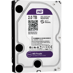 Western Digital HDD DVR 2TB PURPLE, SATA3, IntelliPower, 64MB, Surveillance