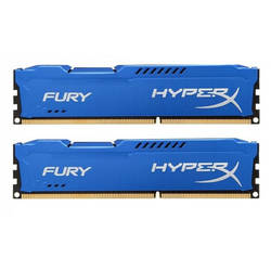 KINGSTON Memorie 8GB DDR3 1600MHz Kit of 2 HyperX Fury