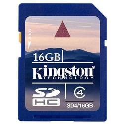 KINGSTON Secure Digital Card SD4/16GB