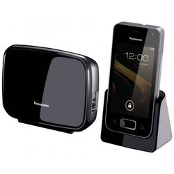 Telefon Dect Panasonic KX-PRX110FXW Android 4.0 Touchscreen 3.5 inch