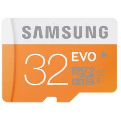 Samsung MICRO SDHC 32GB EVO CLASS10, UHS-1, UP TO 48MB/S W/O ADAPTER