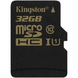 MICRO SECURE DIGITAL CARD 32GB SDHC CLASA 10 UHS-I READ 90MB/S WRITE 45MB/S KINGSTON FARA ADAPTOR SD