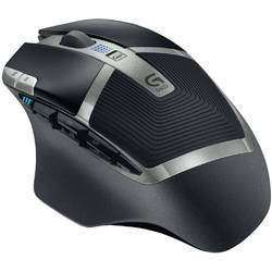 Mouse Wireless Logitech G602, 2500DPI 910-003822