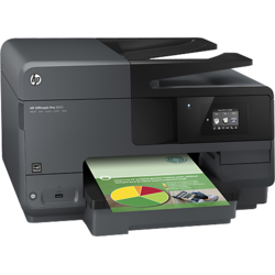 Multifunctional inkjet HP OfficeJet Pro 8610 e-All-in-One - A7F64A