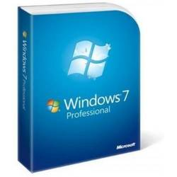 Microsoft Windows 7 Pro SP1 32 bit English FQC-08279