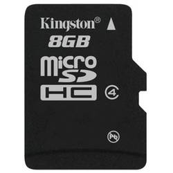 KINGSTON Card de memorie 8GB SDC4/8GBSP