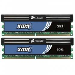 Memorie Corsair, KIT 2x2 DDR2, 4Gb, 800Mhz TWIN2X4096-6400C5C
