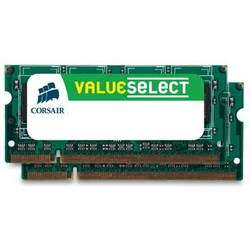 Memorie Corsair KIT 2x2 SODIMM, DDR2, 4Gb, 800Mhz VS4GSDSKIT800D2