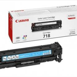 Canon Toner CRG718C, Toner Cartridge for LBP-7200Cdn (2.900 pgs, 5%) CR2661B002AA