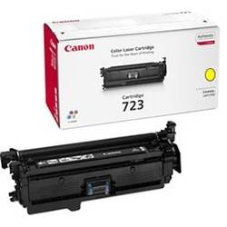 Canon Toner CRG723Y, Toner Cartridge Yellow for LBP-7750Cdn (8.500 pages) based on ISO/IEC19798 CR2641B002AA