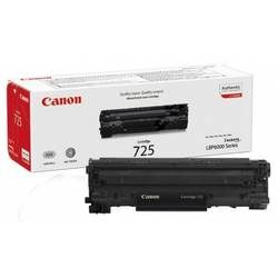 Canon Toner CRG725, Toner Cartridge for LBP6000 (1.600 pgs based ISO/IEC 19752, based on 5% coverage (A4)) CR3484B002AA