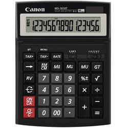 Calculator Canon WS-1610T, 16 Digit BE0696B001AA