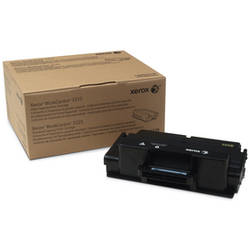 XEROX Black Standard Capacity Toner Cartridge, Workcentre 3325, 3315, 5k 106R02310