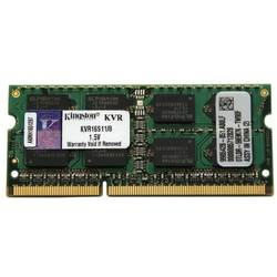 KINGSTON Memorie SODIMM DDR III 8GB, 1600MHz KVR16S11/8