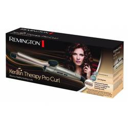 Remington Ondulator Keratin Therapy Pro Curl Ci8319, 210 grade, ceramic, auriu