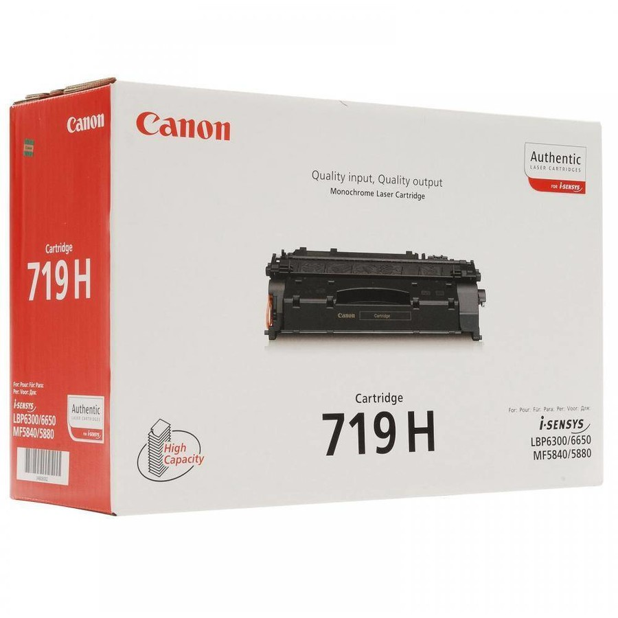 Canon Toner Crg719h, Toner Cartridge Black