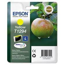 Epson Singlepack Yellow T1294 DURABrite Ultra Ink 7ml