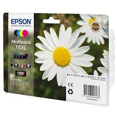 Epson Multipack 4-colours 18XL Claria Home Ink CMYK 1x11,5ml + 3x6,6ml