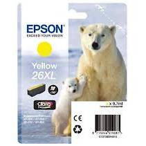 EpsonSinglepack Photo Black 26XL Claria Premium Ink 8,7ml