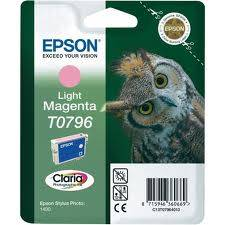 Epson Singlepack Light Magenta T0796 Claria Photographic Ink 11ml