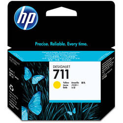 HP CZ132A Ink Cartridge 711 Yellow - 29ml