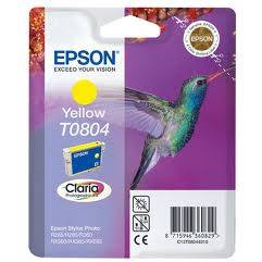 Epson Singlepack Yellow T0804 Claria Photographic Ink 7,4ml