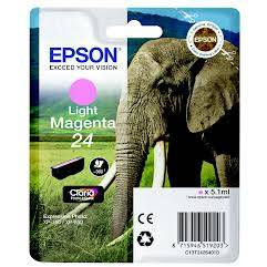 Epson Singlepack Light Magenta 24 Claria Photo HD Ink 5,1ml